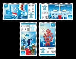 Singapore 2020 Mih. 2688/91 United Nations MNH ** - Singapur (1959-...)