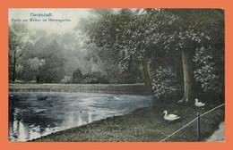 A501 / 415 DARMSTADT Partie Am Wheiher Im Herrengarten ( Timbre Cachet ) - Ohne Zuordnung