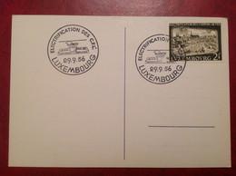 Électrification Des Chemins De Fer Luxembourgeois CFL 1956 - Machine Stamps (ATM)
