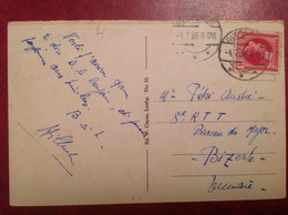 Luxembourg 1936 Pour Bizerte - Machine Stamps (ATM)