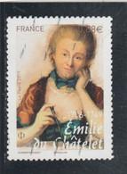 FRANCE 2019 EMILIE DU CHATELET OBLITERE YT 5294 - Used Stamps