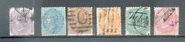 B 188  - INDE  - YT 19 à 23 - 25 ° Obli - 1882-1901 Imperium