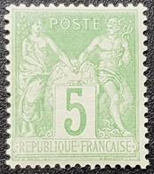 Type Sage N° 102 Neuf * Gomme D'Origine, Bon Centrage  TTB - 1898-1900 Sage (Tipo III)