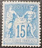Type Sage N° 90 Neuf * Gomme D'Origine, Bon Centrage  TB - 1876-1898 Sage (Type II)