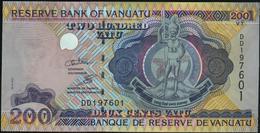 ♛ VANUATU - 200 Vatu Nd.(1995) {sign. Odo Tevi & Sela Molisa} UNC P.8 C - Vanuatu
