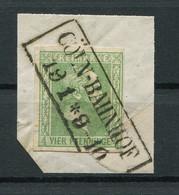 "Preussen: 4 Pfe. MiNr. 9 1858 Kastenstempel ""Köln-Bahnhof"" Gestempelt / Used / Oblitéré - Preussen (Prussia)"
