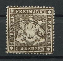 Württemberg: 1 Kr. MiNr. 16 1860 Gestempelt / Used / Oblitéré - Wuerttemberg