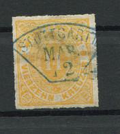 """Württemberg: 14 Kr. MiNr. 41 1868 """"Stuttgart"""" Gestempelt / Used / Oblitéré - Wuerttemberg"""