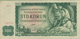 Tchécoslovaquie - Billet De 100 Korun - 1961 - P91c - Tsjechoslowakije
