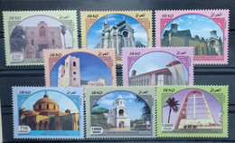 Iraq 2020 NEW MNH Set Of 8 Stamps - Iraqi Churches - Irak