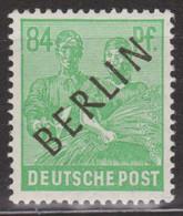 Berlin 1948 Schwarzaudruck Mi.Nr. 16 Einwandfrei Postfrisch/MNH, Michel 18.- Euro. - Ungebraucht