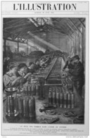 Le Rôle Des Femmes Dans L'usine De Guerre - Le Travail De Vérification Des Obus - Page Original  1915 - Historical Documents