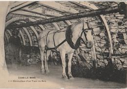 Dans La Mine - Conducteur D'un Train De Bois - Bergbau