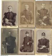 Joli Lot De 51 CDV - Militaires, Enfants, Femmes, Etc... - Antiche (ante 1900)