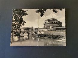 Cartolina Roma Castel Sant'Angelo - Castel Sant'Angelo