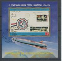1386) MiNr.: Block 109 Gestempelt -100 Jahre UPU - Equatorial Guinea