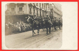 RRare Entrée Des Troupes Françaises Le 14/12/1918 à MAYENCE Cavaliers - Guerre 1914-18