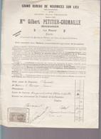 Nourrices Sur Lieu / Paris, Rue Pascal, Maison Charasson, Avis Aux Maitres, Frais De Placement - 1900 – 1949