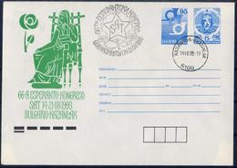 Esperanto -  Bulgaria / Bulgarie 1993 -  Postal Cover - Esperanto