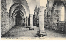 LE MONT SAINT MICHEL : L'AUMONERIE - Le Mont Saint Michel
