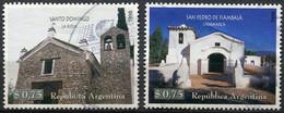 Argentine - 1998 - Yt 2025/2026 - Chapelles - Obl. - Gebraucht