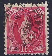 SUISSE 1905: Le  ZNr. 75D, Obl. CAD Frutigen Du 26.II.05 - Gebruikt