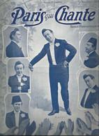 Vintage /old Newspaper // Revue Paris Qui Chante 1903 MAYOL / Rictus Fleuron Barde Ablamowicz Pavart Audrys - Musica