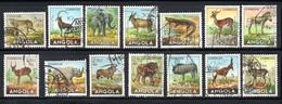 1953 - SERIE ANIMAUX SAUVAGES - OBLITERES - TOUS TRES BEAUX - Angola