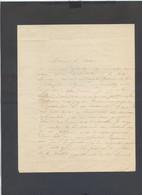 081120/// MACON BEL AIR 1848....LETTRE A UN PASTEUR - Non Classificati