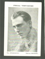 Félicien Vervaecke Né à Dadizele Belgique équipe Unis Sport Tour De France De 1932 à 1939 - Ciclismo