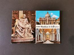 Cartolina Roma Basilica San Pietro - San Pietro