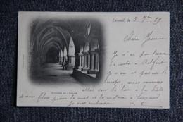 LUXEUIL - Cloitres De L'Abbaye. ( Carte Pionnière ). 1899 - Luxeuil Les Bains