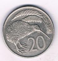 20 CENTS 1982 NIEUW ZEELAND /8968/ - New Zealand