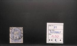 [817523]TB//O/Used-Belgique 1869 - N° 31, Jemappes, Rois - 1869-1883 Leopold II