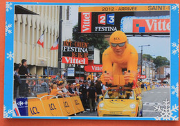 Cyclisme :  Tour De France 2012 , La Caravane Arrive A Saint Quentin - Ciclismo
