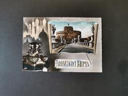 Cartolina Roma Arrivederci Roma - Castel Sant'Angelo
