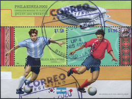 Argentine - 2002 - Yt BF 79 - Philakorea 2002 - Obl. - Blocks & Kleinbögen