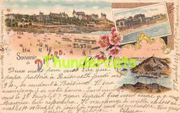 CPA 35 LITHO SOUVENIR DE DINARD GRUSS AUS KUNZLI CARL ZURICH - Dinard