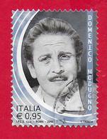 ITALIA REPUBBLICA USATO 2018 - Eccellenze Italiane Dello Spettacolo - Domenico Modugno - 0,95 € - S. 3808 - 2011-...: Used