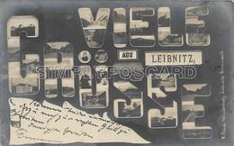 OLD POSTCARD - AUSTRIA - VIELE GRUSSE AUS LEIBNITZ - VIAGGIATA 1905 - D35 - Leibnitz