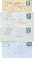 CHATEAUNEUF-DU-FAOU FINISTERE 1861 A 1864 - 1849-1876: Klassik