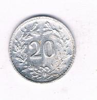 20 RAPPEN 1979 TOKEN ZWITSERLAND /8995/ - Switzerland