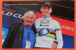 Cyclisme : Raymond Poulido R Et Mathieu Van Der Poel , RARE - Ciclismo