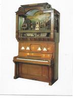 MUSIQUE  -  CARTE  PIANO  PNEUMATIQUE  HUPFELD  PHONOLISSZT  Avec  ANIMATION - Musique Et Musiciens