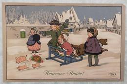 Carte Postale - Illustrateur Pauli Ebner - MM 608 - Ebner, Pauli