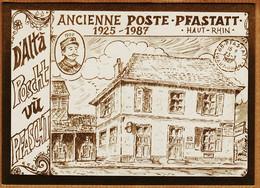 X68011 D'ALTA POSCHT Vù PFASCHT PFASTATT Ancienne POSTE 1925-1987 Ecole Primaire - N°102/200 LOUMA MAECHLER N°11 - Otros Municipios