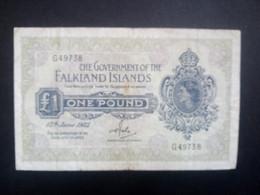 Falkland Islands 1982: 1 Pound - Falkland Islands