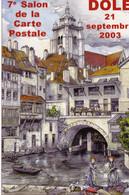39 DOLE  7ème Salon De La Carte Postale 21.9.2003 - Unclassified