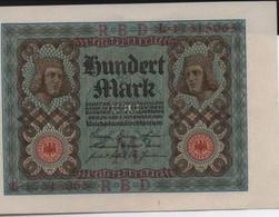 100  Mark   1920 - 100 Mark