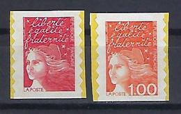 "FR Adhesif YT 15 & 16 "" Marianne De Luquet "" 1997 Neuf - Sellos Autoadhesivos"